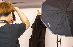 トルソー撮りで商品の着用イメージをわかりやすくお伝えします。