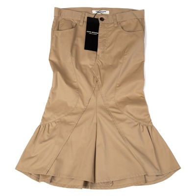 JUNYA WATANABE COMME des GARCONS コットンギャバカッティングデザインスカート