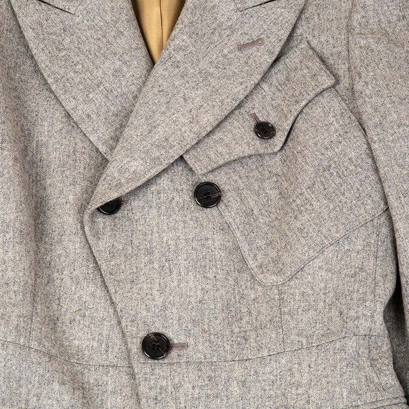 Jean Paul GAULTIER CLASSIQUE ウールポケットデザインコート