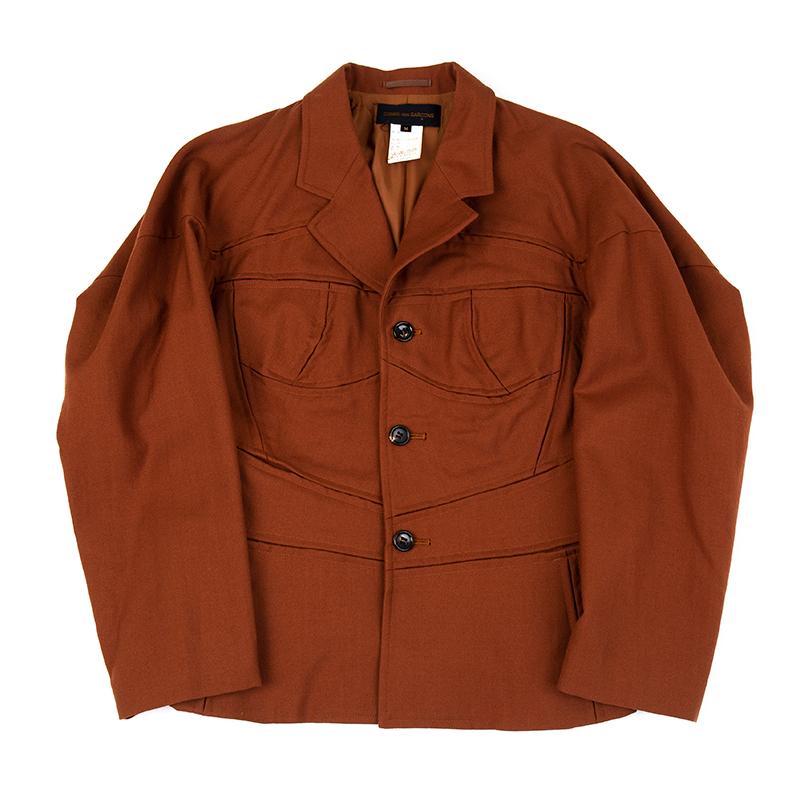COMME des GARCONS / ウールボンテージカッティングジャケット