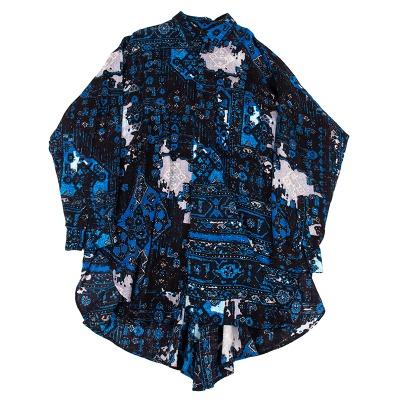 Y's ネイティブプリントビッグシルエットシャツ